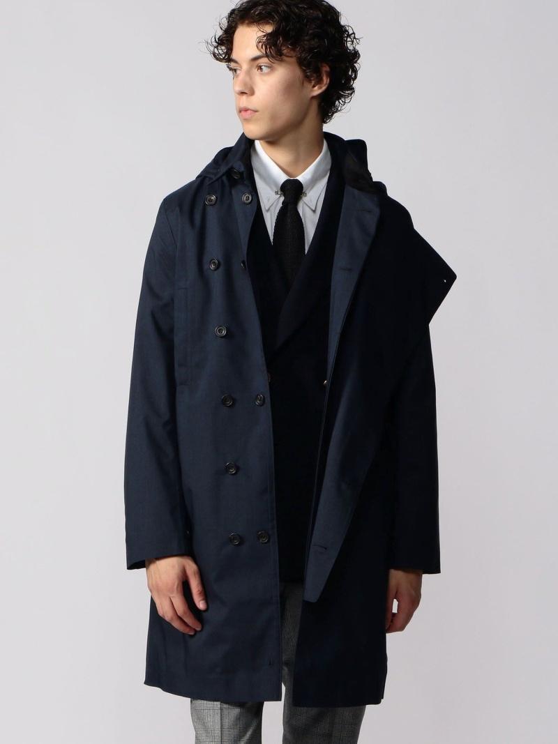 TOMORROWLAND BUYING WEAR Norwegian Rain ポリエステル フーデッドコート DOUBLE BRESTED トゥモローランド コート/ジャケット コート/ジャケットその他【送料無料】