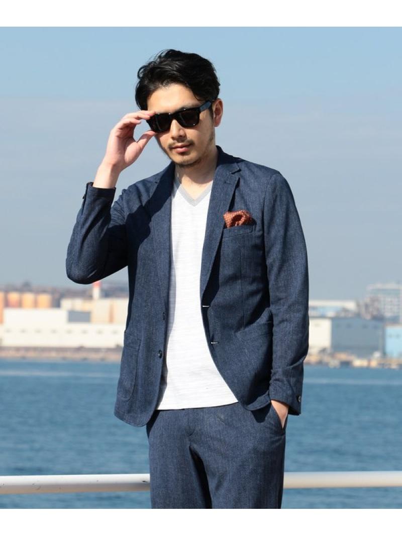 MEN'S BIGI ストレッチ ジャケット(セットアップ可能)/EVALET メンズ ビギ コート/ジャケット【送料無料】