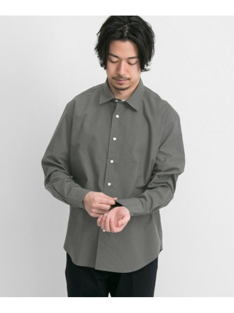 URBAN RESEARCH URBAN RESEARCH Tailor ミクロチェックシャツ アーバンリサーチ シャツ/ブラウス シャツ/ブラウスその他 ベージュ ブラウン【送料無料】