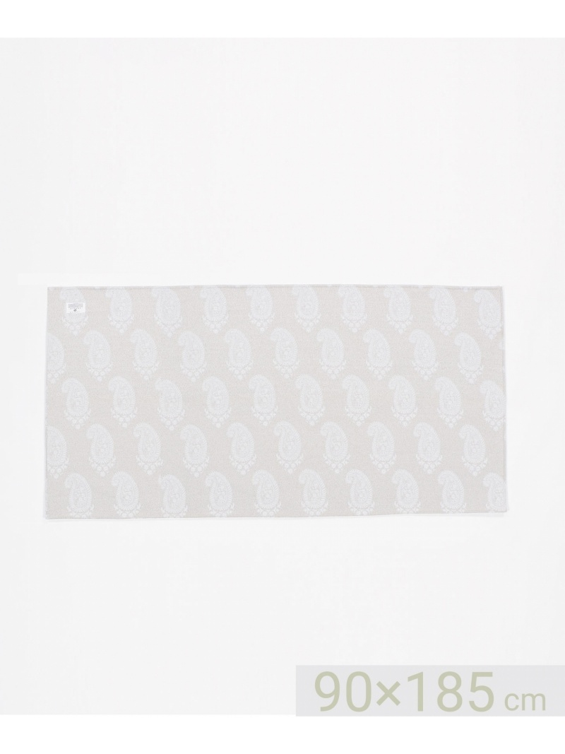 JOSEPH ABBOUD ビッグペイズリー ラグ 90×185 ジョセフアブード 生活雑貨【送料無料】