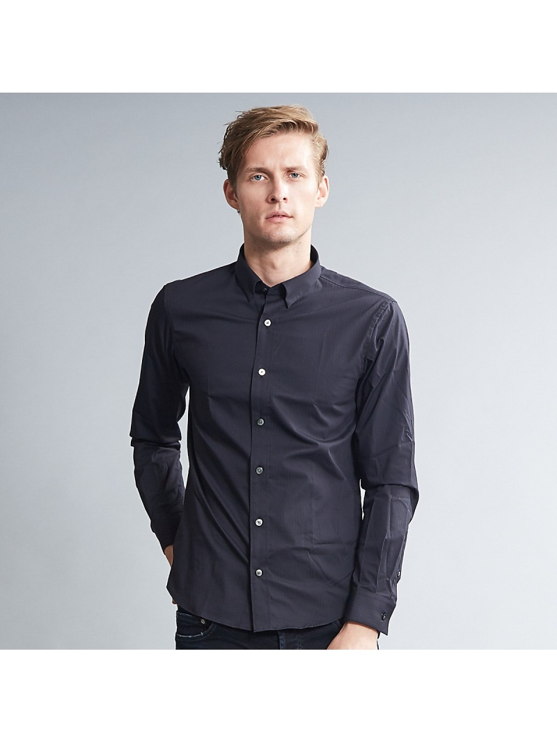 5351POUR LES HOMMES ウルトラヴェールドビードレスシャツ ゴーサンゴーイチプールオム シャツ/ブラウス【送料無料】