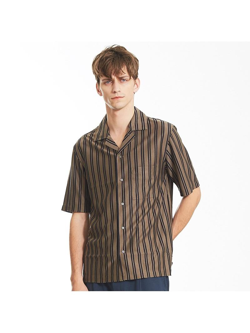 ABAHOUSE テンセルジャージーオープンカラーシャツ アバハウス シャツ/ブラウス【送料無料】
