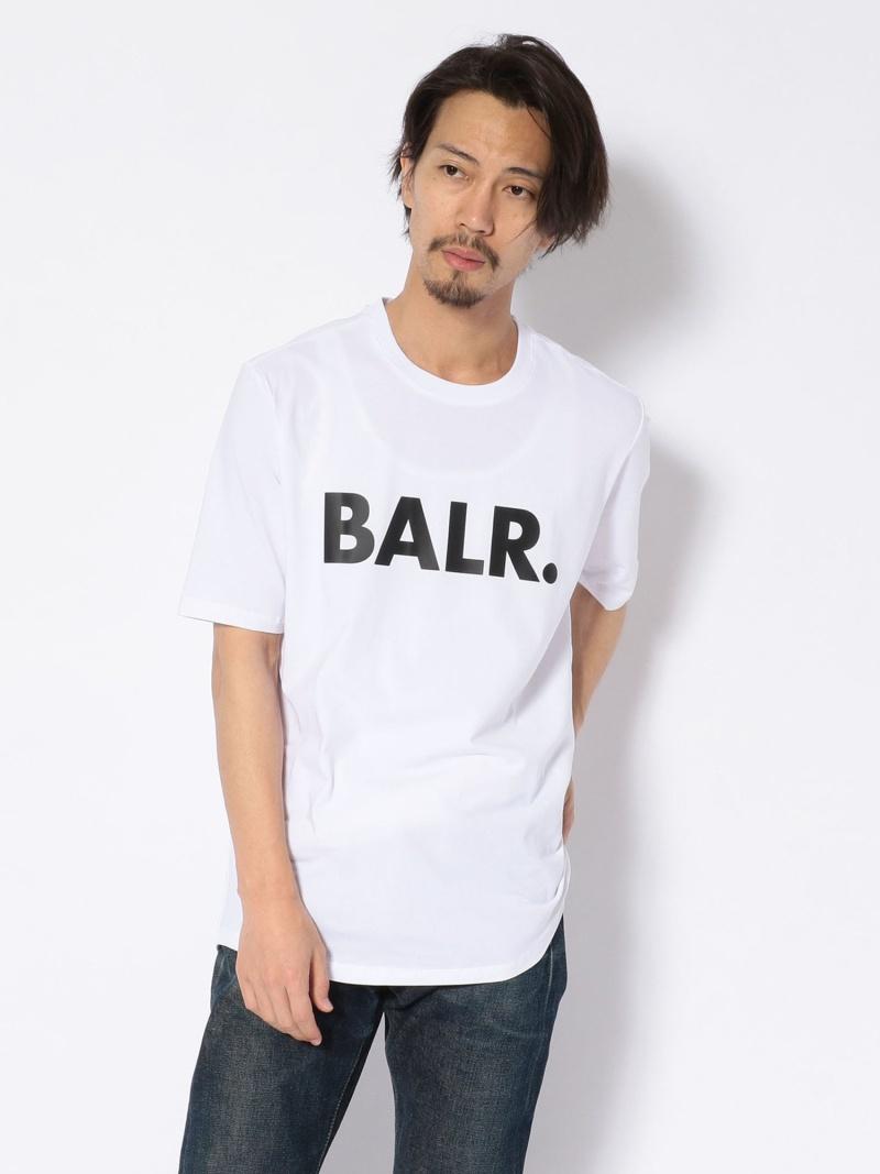 B'2nd BALR.(ボーラー)BRANDSHIRT ビーセカンド カットソー Tシャツ ホワイト ブラック【送料無料】