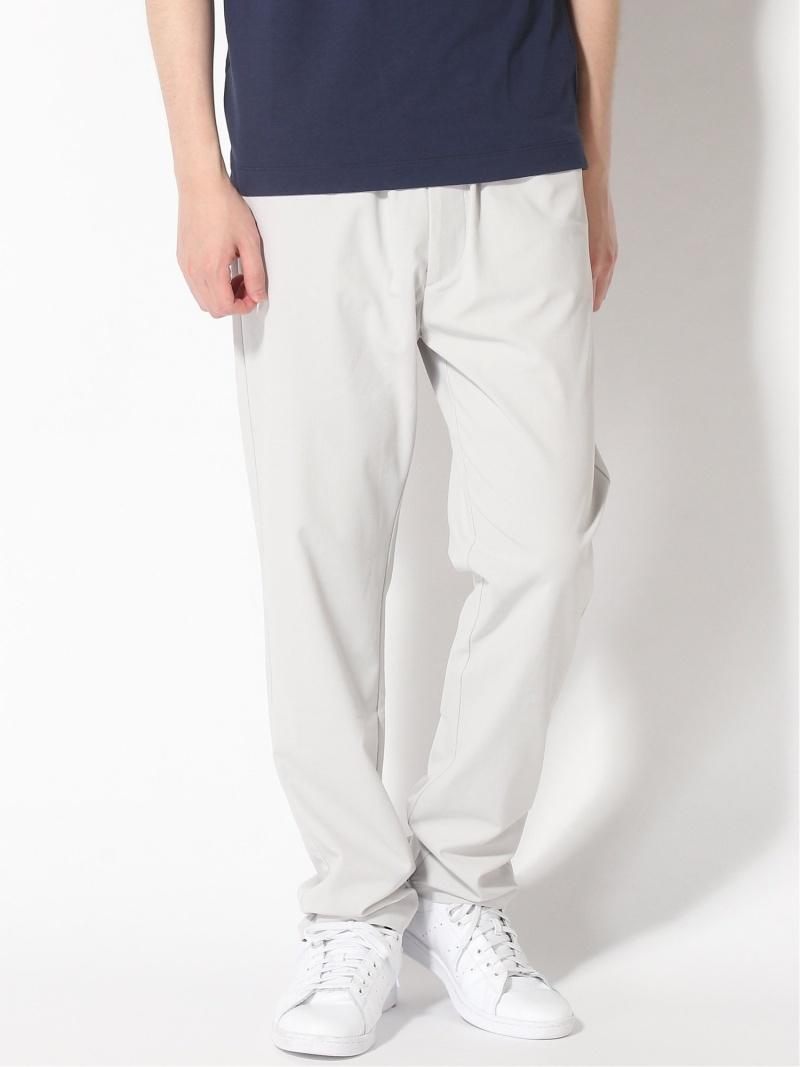 three dots (M)Men's slim tapered pants スリードッツ パンツ/ジーンズ フルレングス グレー ブルー カーキ【送料無料】
