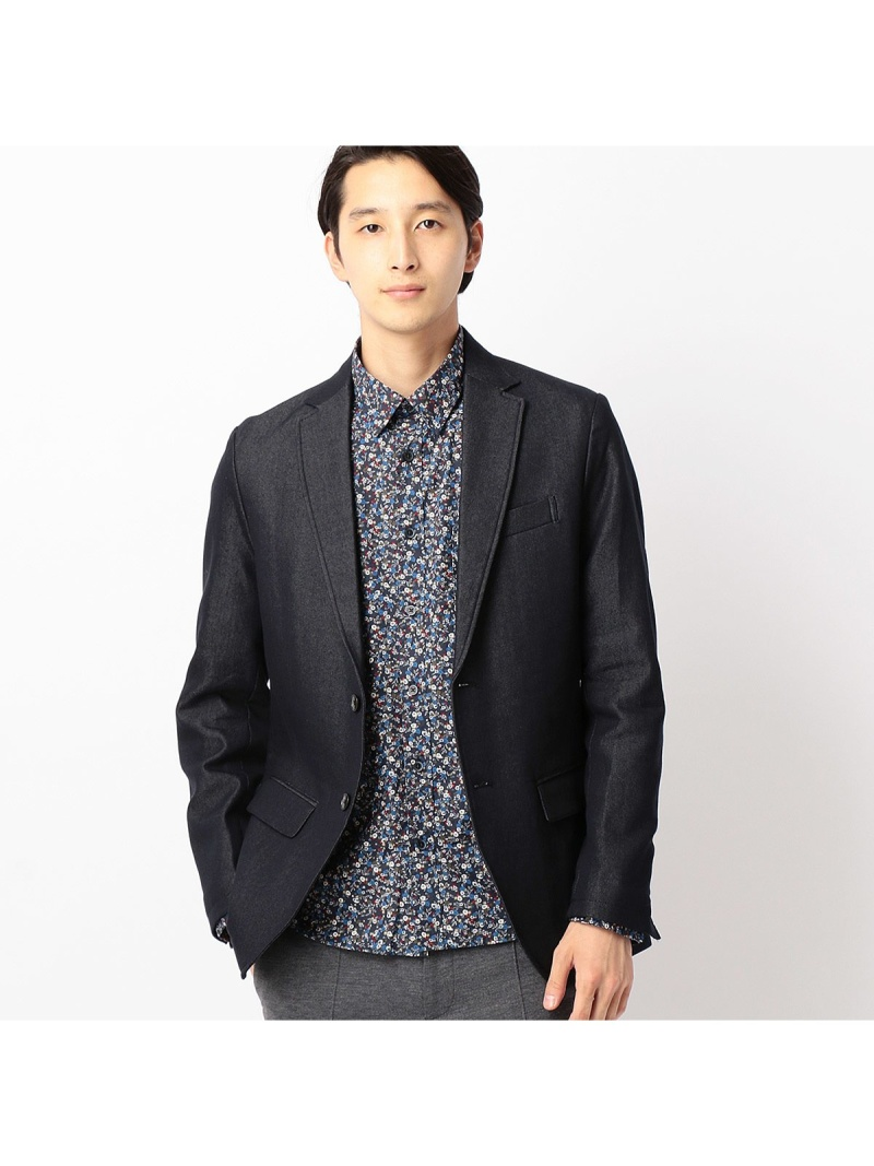 8a450a9016799  SALE/70%OFF COMME CA ISM インディゴライクセットアップジャケット コムサイズム コート