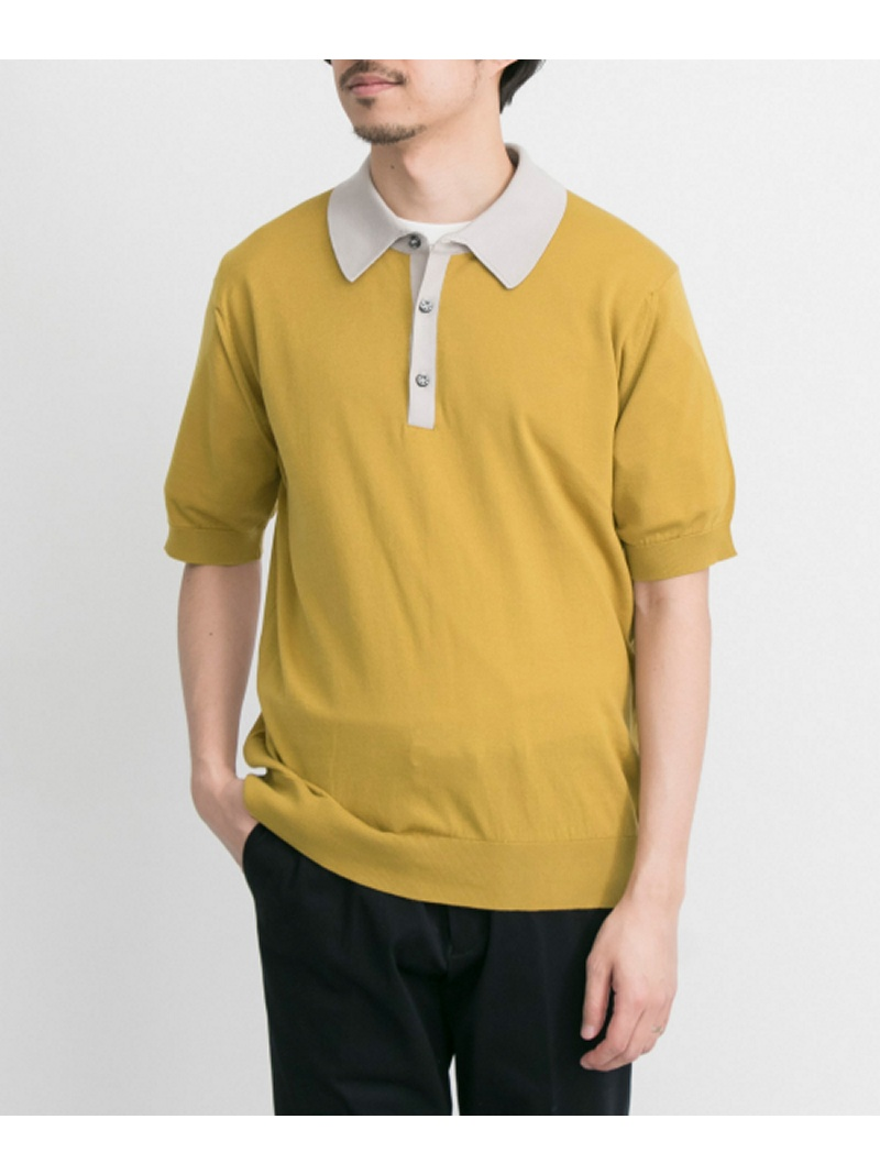 URBAN RESEARCH JOHN SMEDLEY 配色ポロシャツ EXCLUSIVE アーバンリサーチ カットソー【送料無料】