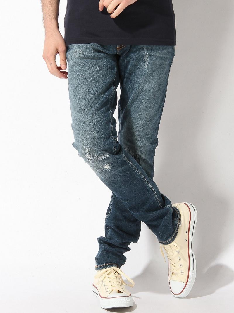 nudie jeans nudie jeans/(M)Skinny Lin_スキニージーンズ ヌーディージーンズ / フランクリンアンドマーシャル パンツ/ジーンズ【送料無料】