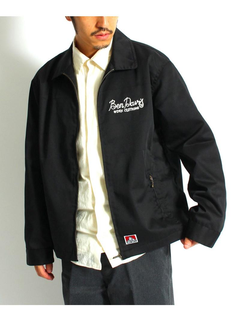BEN DAVIS white label BEN DAVIS ( ベンデイビス ) / TCツイルワークジャケット ナバル コート/ジャケット【送料無料】