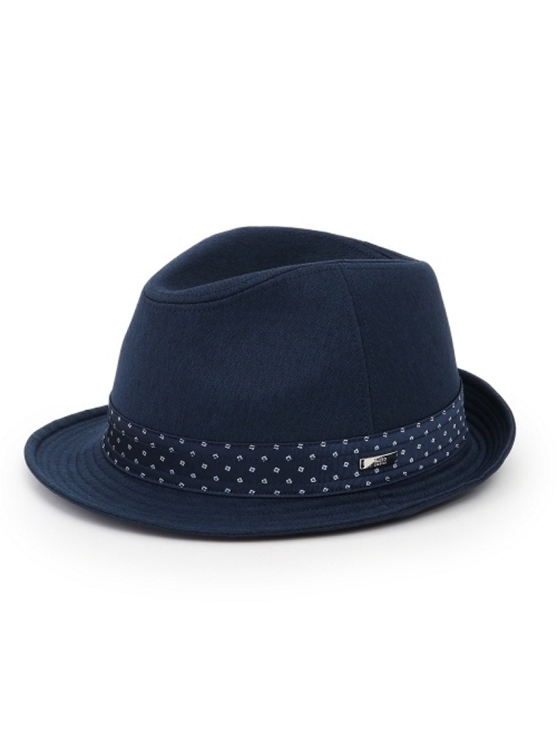 TAKEO KIKUCHI オリジナルリボンハット [ メンズ 帽子 ハット ヘリンボン ] タケオキクチ 帽子/ヘア小物【送料無料】