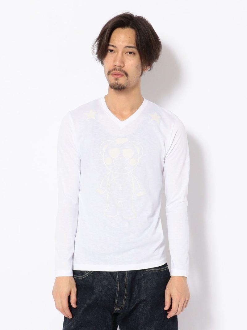 ROYAL FLASH TANTA/タンタ/5STARGHOSTLSTシャツ ロイヤルフラッシュ カットソー Tシャツ ホワイト【送料無料】