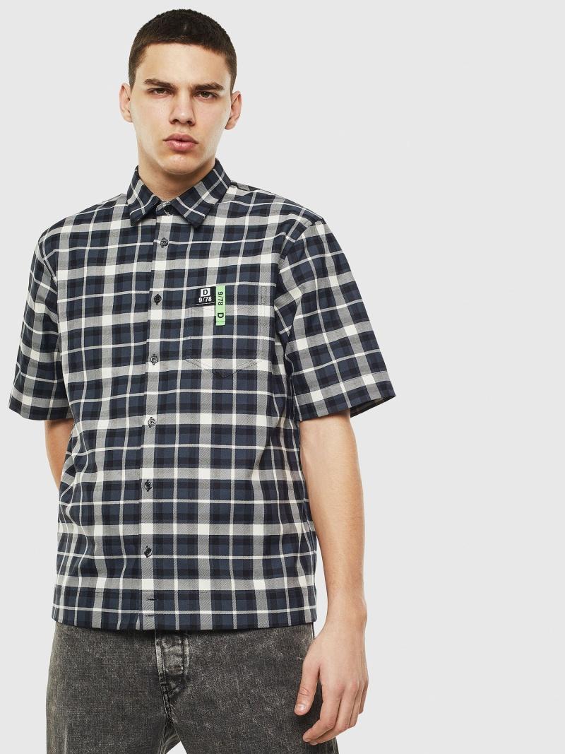 【SALE/40%OFF】DIESEL S-ATWOOD-A ディーゼル シャツ/ブラウス ワイシャツ ブラック【RBA_E】【送料無料】