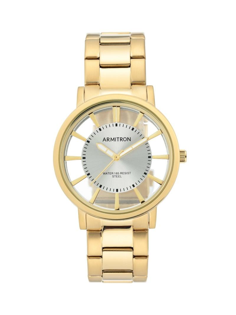 【SALE/10%OFF】ARMITRON NEW YORK ARMITRON NEWYORK/(M)腕時計 メンズドレスウォッチ オブライフ ファッショングッズ 腕時計 ゴールド ブルー【RBA_E】【送料無料】