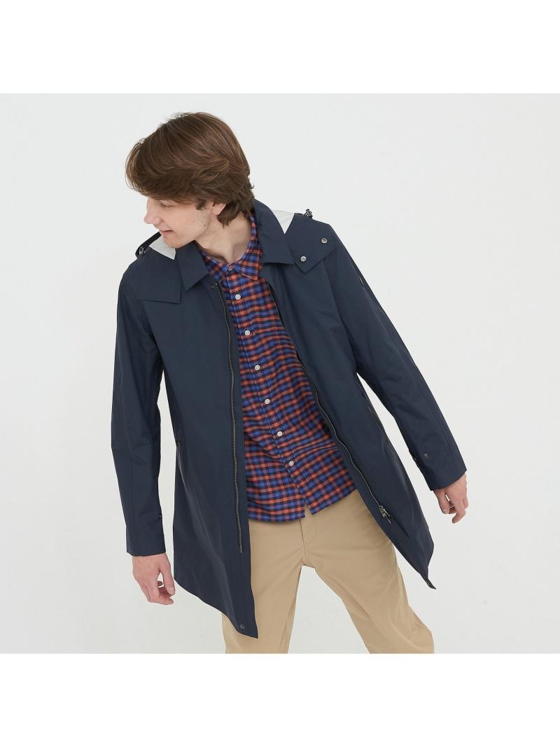 AIGLE 吸水速乾2in1ステンカラーコート エーグル コート/ジャケット【送料無料】