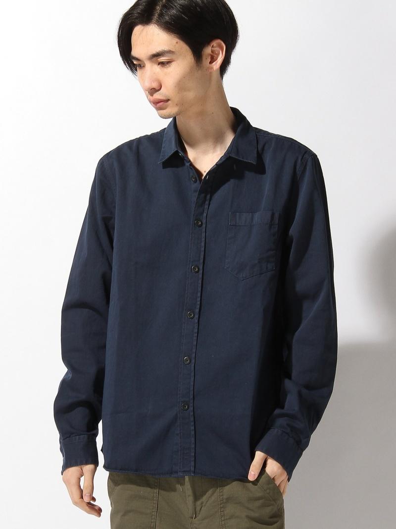 【SALE/30%OFF】nudie jeans/(M)Henry_LS-シャツ ヌーディージーンズ / フランクリンアンドマーシャル シャツ/ブラウス【RBA_S】【RBA_E】【送料無料】
