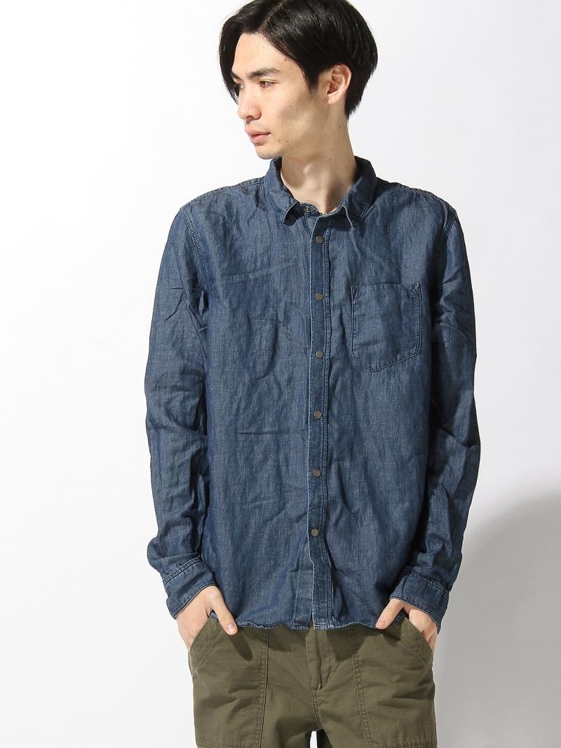 【SALE/20%OFF】nudie jeans nudie jeans/(M)Henry_LS-シャツ ヌーディージーンズ / フランクリンアンドマーシャル シャツ/ブラウス【RBA_S】【RBA_E】【送料無料】