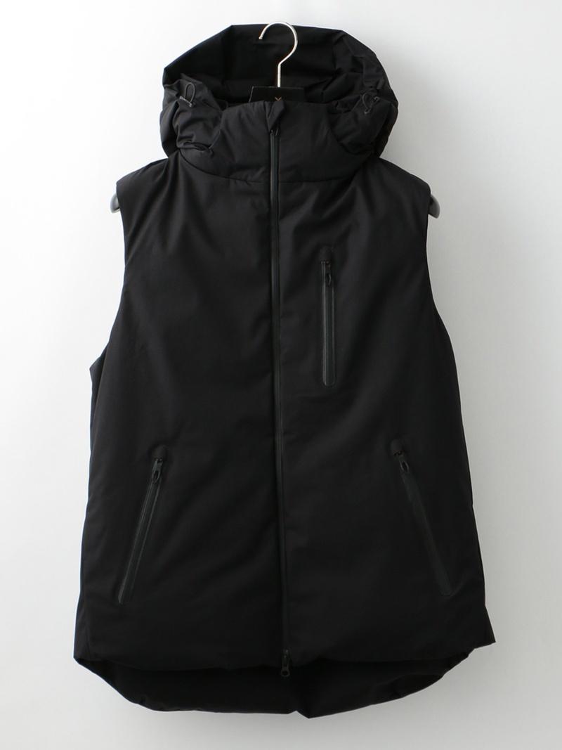 LOVELESS 【SNOW】MENSダウンベスト ラブレス コート/ジャケット ベスト ブラック【送料無料】