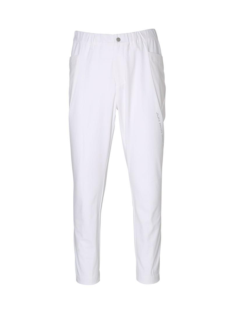 JUN&ROPE' 【UV】【吸水速乾】ストレッチジャージパンツ ジュンアンドロペ パンツ/ジーンズ パンツその他 ホワイト ブラック グレー【送料無料】