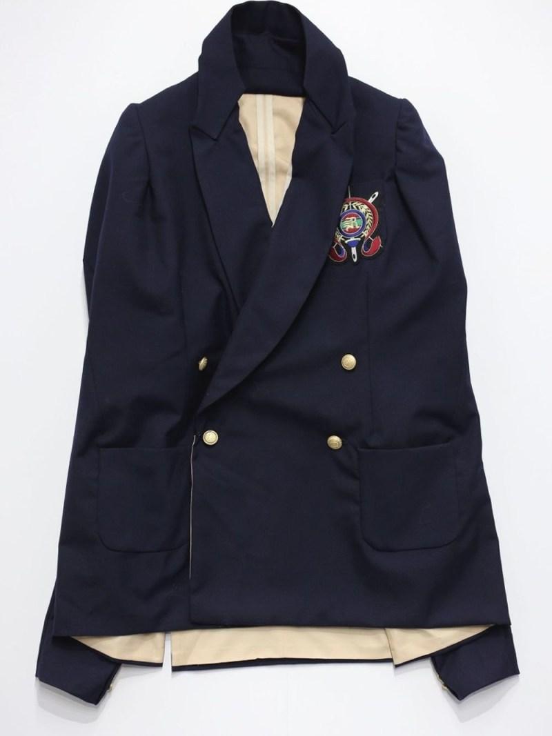 RequaL〓 Blazer Jacket シーナウトウキョウ コート/ジャケット テーラードジャケット ネイビー【先行予約】*【送料無料】