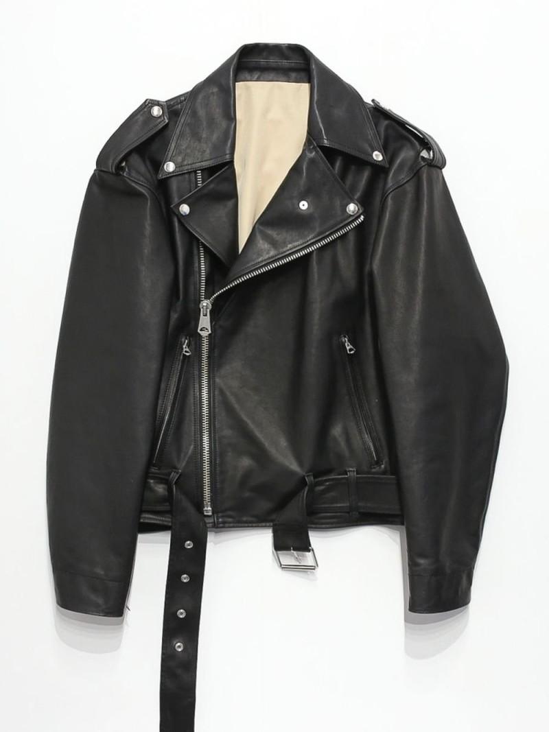 RequaL〓 Riders Jacket シーナウトウキョウ コート/ジャケット テーラードジャケット ブラック【先行予約】*【送料無料】