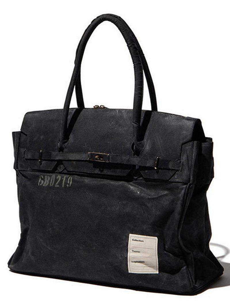 Paraffin tote bag グラム バッグ【先行予約】*【送料無料】