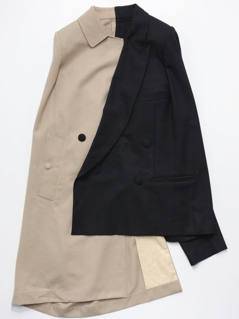 RequaL〓 Soutien Collar Docking Jacket シーナウトウキョウ コート/ジャケット テーラードジャケット【先行予約】*【送料無料】