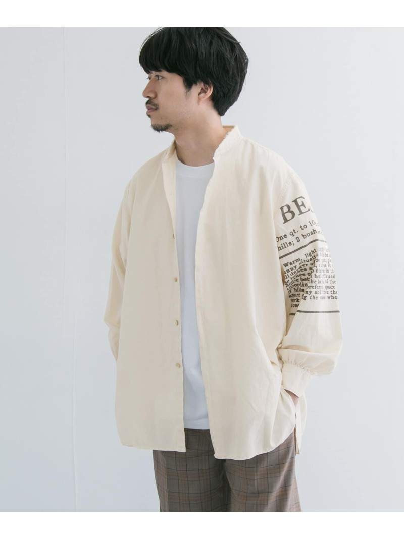 【SALE/50%OFF】URBAN RESEARCH RE.MATERE.M△TE×NicheLONG-SLEEVE アーバンリサーチ シャツ/ブラウス シャツ/ブラウスその他【RBA_E】【送料無料】