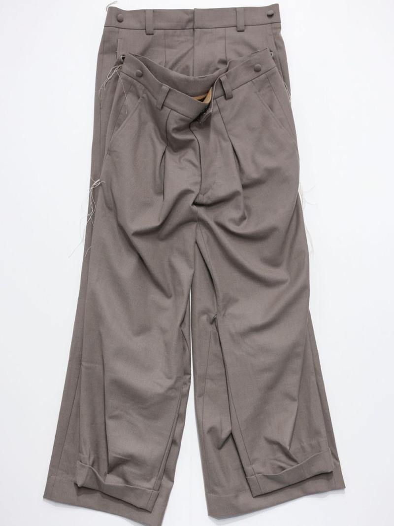 RequaL〓 Double Shape Pants シーナウトウキョウ パンツ/ジーンズ フルレングス【先行予約】*【送料無料】