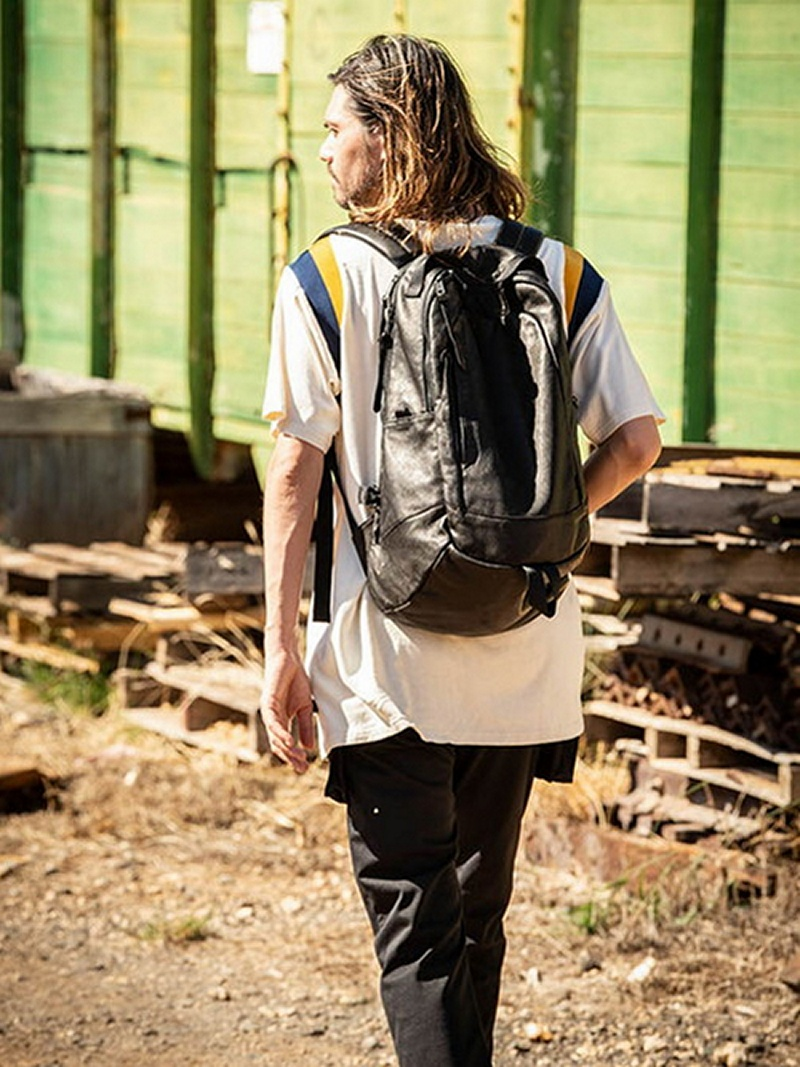 Canyon leather backpack グラム バッグ【先行予約】*【送料無料】