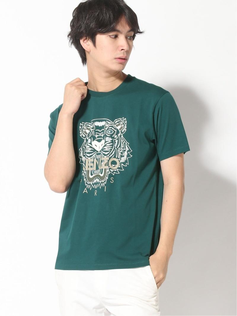 KENZO (M)FW20 Classic Tiger Tee M ケンゾー カットソー Tシャツ グリーン ブラック ホワイト レッド【送料無料】