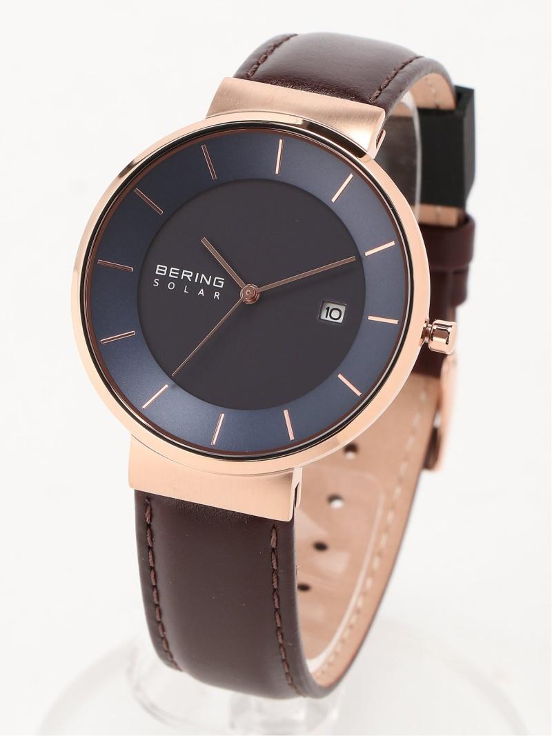BERING (U)BERING Scandinavian Solar 14639-567 ベーリング ファッショングッズ 腕時計 ブルー【送料無料】