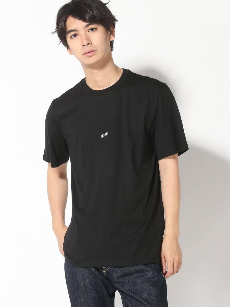 MSGM (M)M.T.SHIRT_2840MM162 エムエスジーエム カットソー Tシャツ ブラック ホワイト【送料無料】