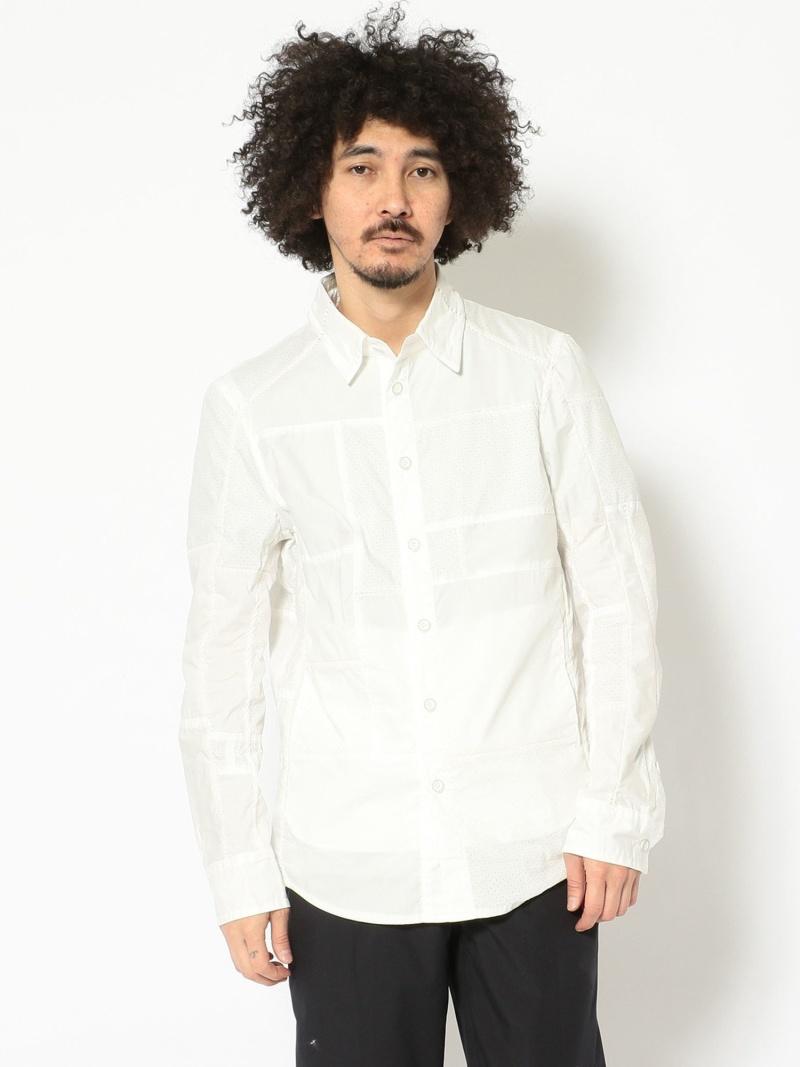 【SALE/30%OFF】B'2nd CherrySunburst(チェリーサンバースト)パンチングシャツ ビーセカンド シャツ/ブラウス 長袖シャツ ホワイト【RBA_E】【送料無料】