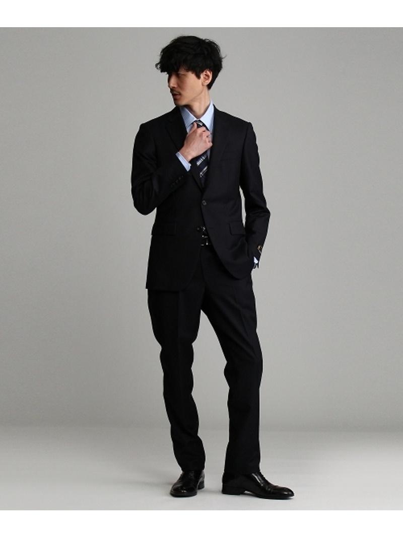 TAKEO KIKUCHI 【J∞QUALITY】シャドーストライプシングルスーツ[メンズ スーツ ウール 通年 撥水 防汚] タケオキクチ カットソー【送料無料】