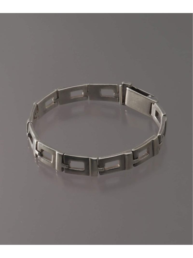 WORLDLY-WISE OLD GUCCI SILVER BRACELET(T GUCCI B/L) ワールドリーワイズ アクセサリー ブレスレット シルバー【送料無料】