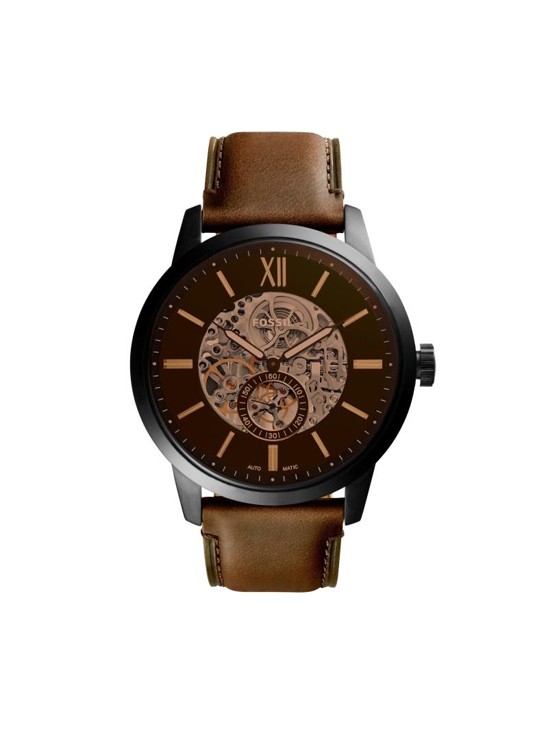FOSSIL TOWNSMAN AUTOMATIC フォッシル ファッショングッズ 腕時計 ブラック【送料無料】