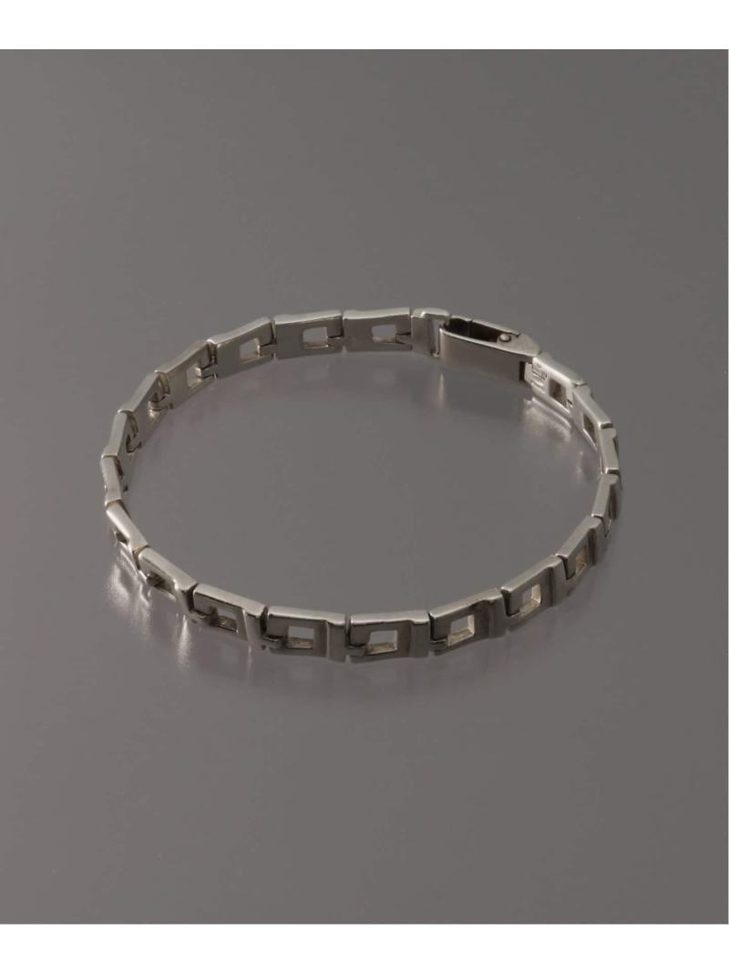 WORLDLY-WISE OLD GUCCI SILVER BRACELET ワールドリーワイズ アクセサリー ブレスレット シルバー【送料無料】