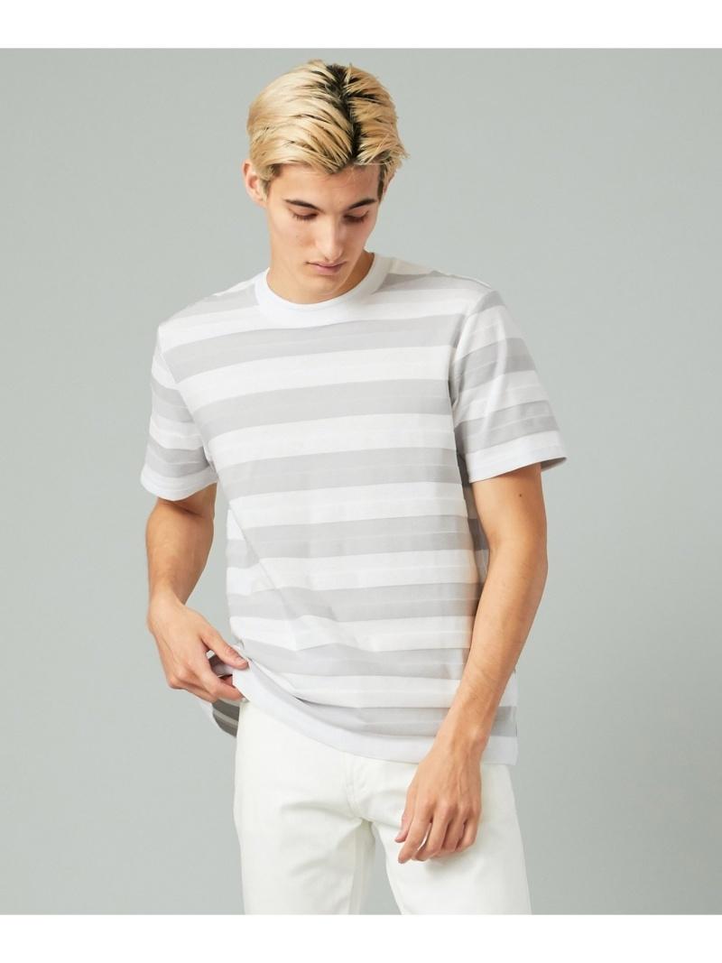 CK CALVIN KLEIN テクニカルボーダー Tシャツ CK カルバン・クライン カットソー Tシャツ ホワイト ブラック ブルー ネイビー【送料無料】