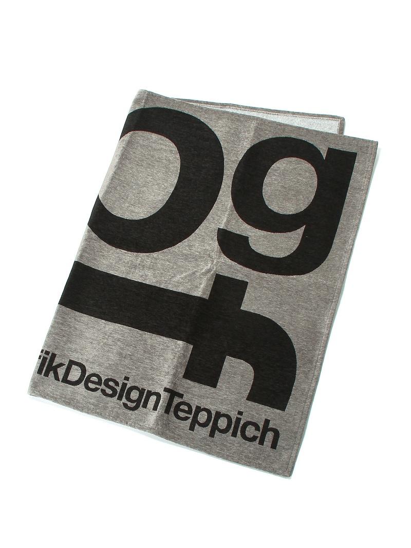 TIMELESS COMFORT TYPOGRAPHY[tpgf]RUG140×200(グレー) タイムレス コンフォート 生活雑貨【送料無料】