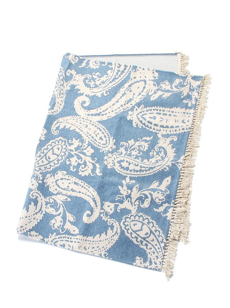 PAISLEY PAISLEYFRINGERUG140×200cm(ブルー) タイムレス コンフォート 生活雑貨【送料無料】