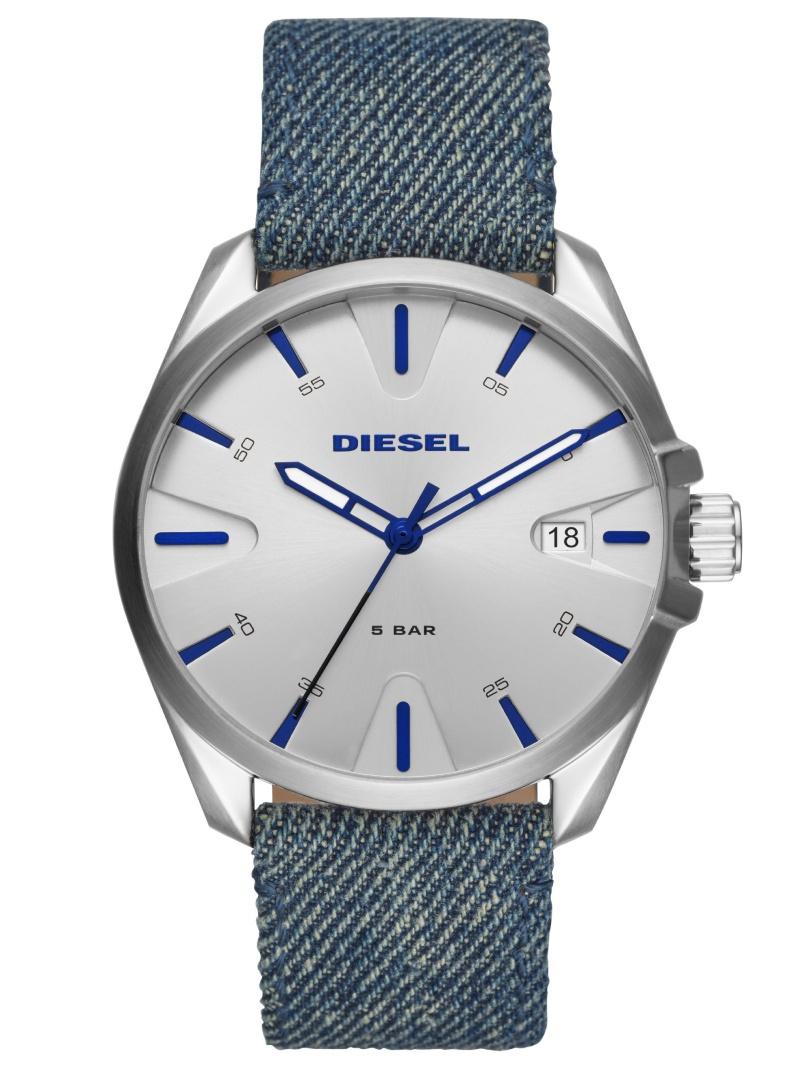 DIESEL DIESEL/(M)MS9_DZ1891 ウォッチステーションインターナショナル ファッショングッズ 腕時計 シルバー【送料無料】