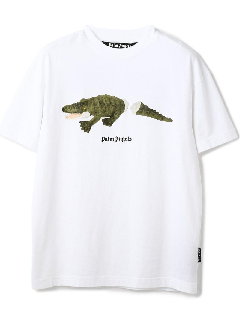 LHP PalmAngels/パームエンジェルス//CROCO TEE エルエイチピー カットソー Tシャツ ホワイト【送料無料】