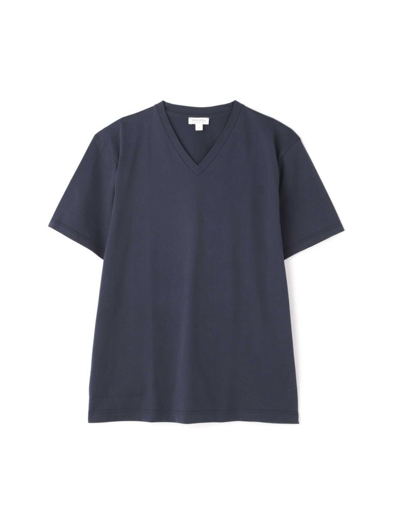 SUNSPEL MEN'STWOFOLD60'SMIDWEIGHTJERSEY サンスペル カットソー カットソーその他 ネイビー ホワイト【送料無料】