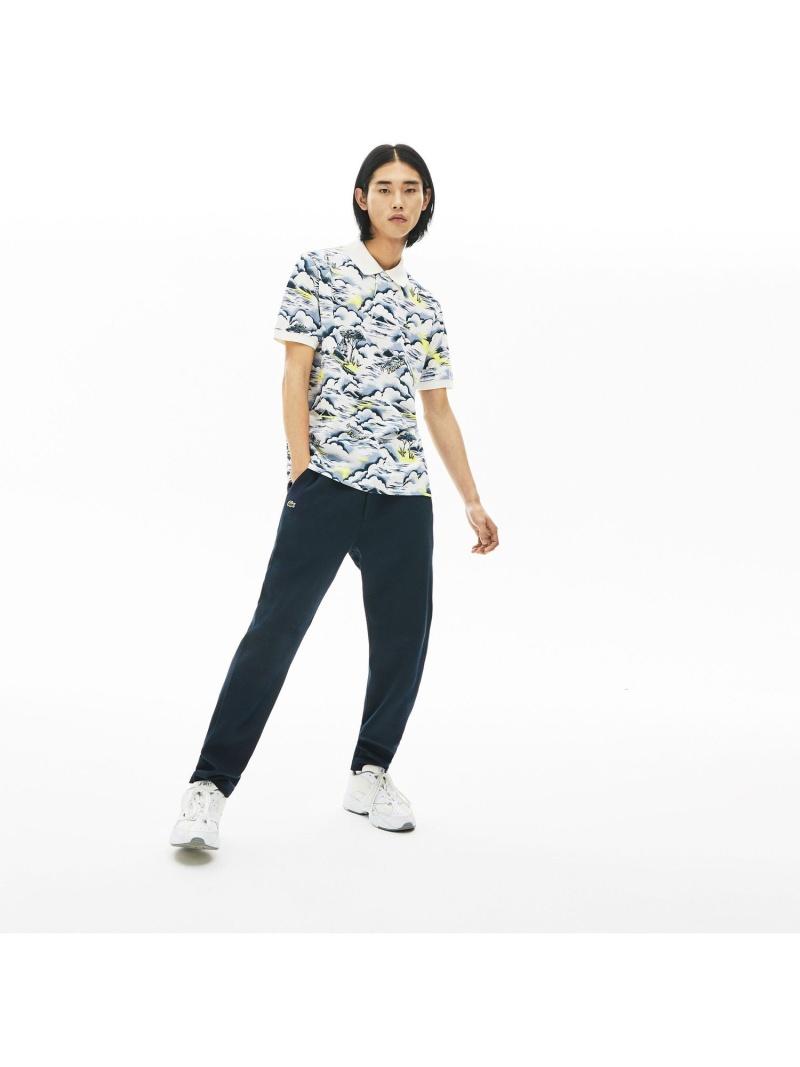【SALE/30%OFF】LACOSTE クラシックフィットビーチグラフィックポロシャツ(半袖) ラコステ カットソー ポロシャツ【RBA_E】【送料無料】