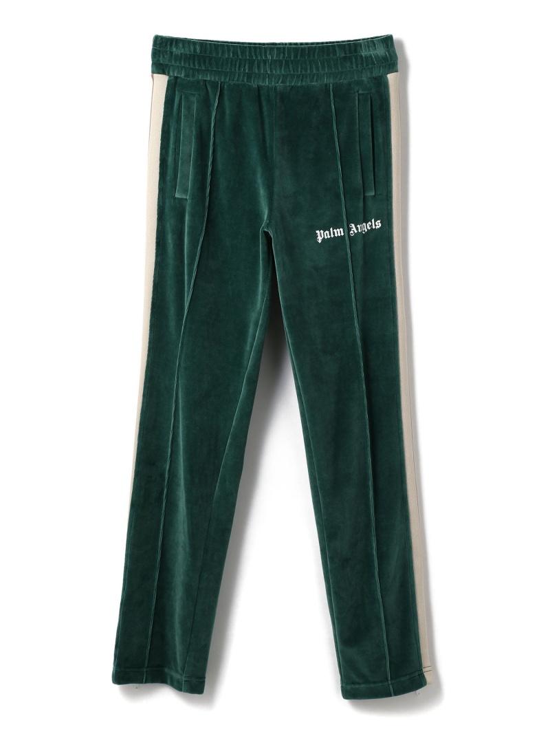 LHP PalmAngels/パームエンジェルス/CHENILLE TRACK PANTS エルエイチピー パンツ/ジーンズ フルレングス グリーン【送料無料】