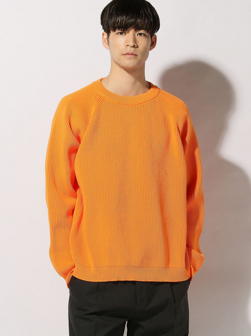 THE COMMON TEMPO/(M)POLYESTER BIG SWEATER ザコモンテンポ ニット【送料無料】