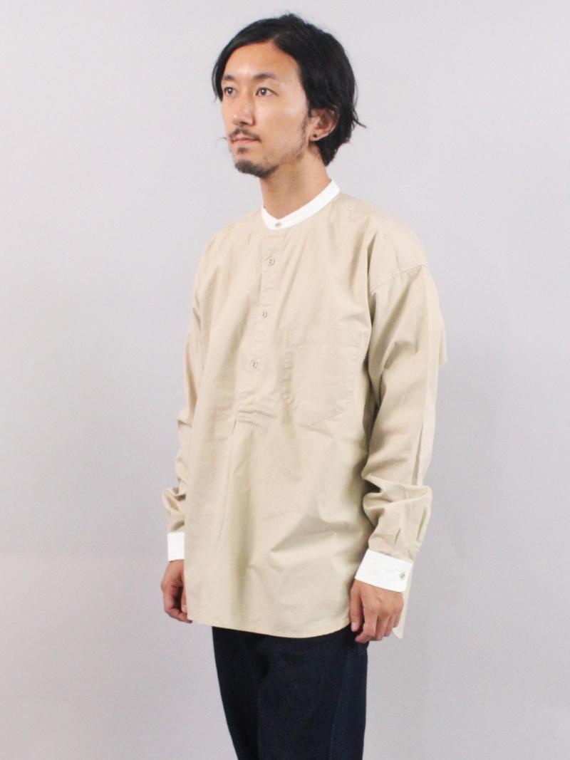 ADITIONAL スタンドカラーシャツ メンズ ビギ シャツ/ブラウス【送料無料】