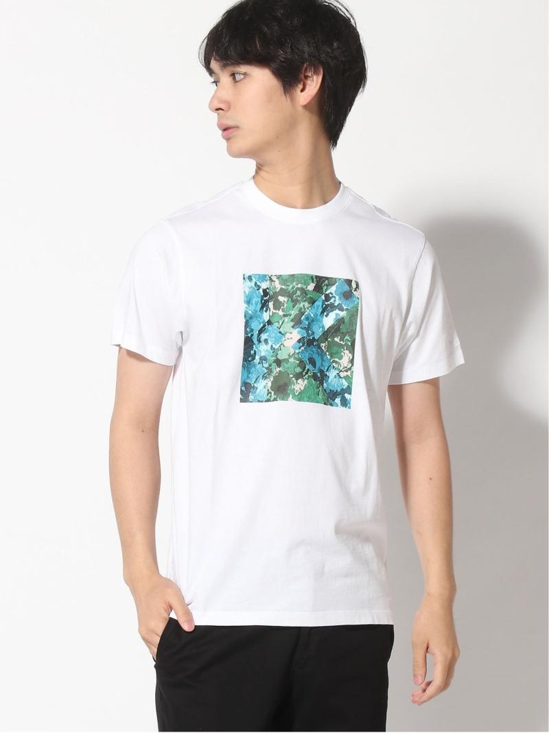 KENZO (M)Fleur Camo K Logo Tee M ケンゾー カットソー Tシャツ ホワイト【送料無料】
