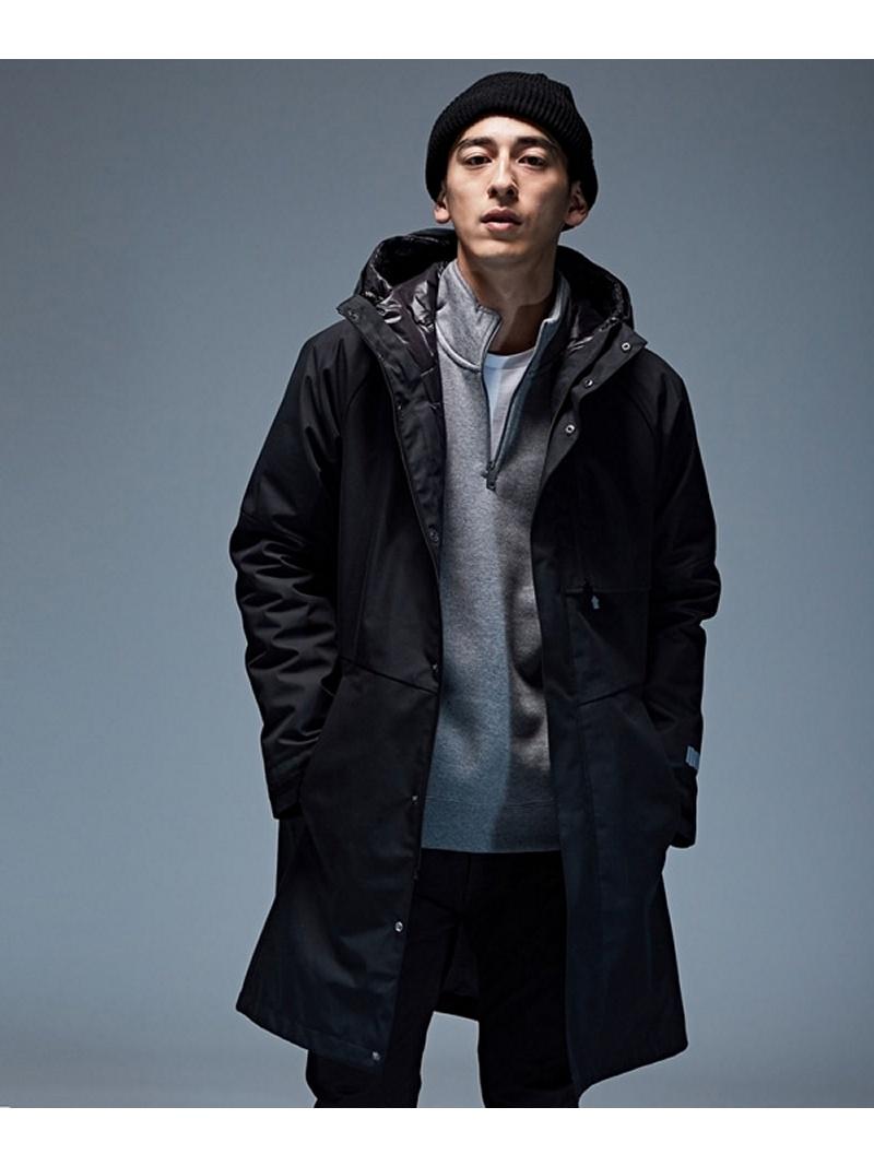 nano・universe OGAWA 3WAY モッズコート ナノユニバース コート/ジャケット【送料無料】