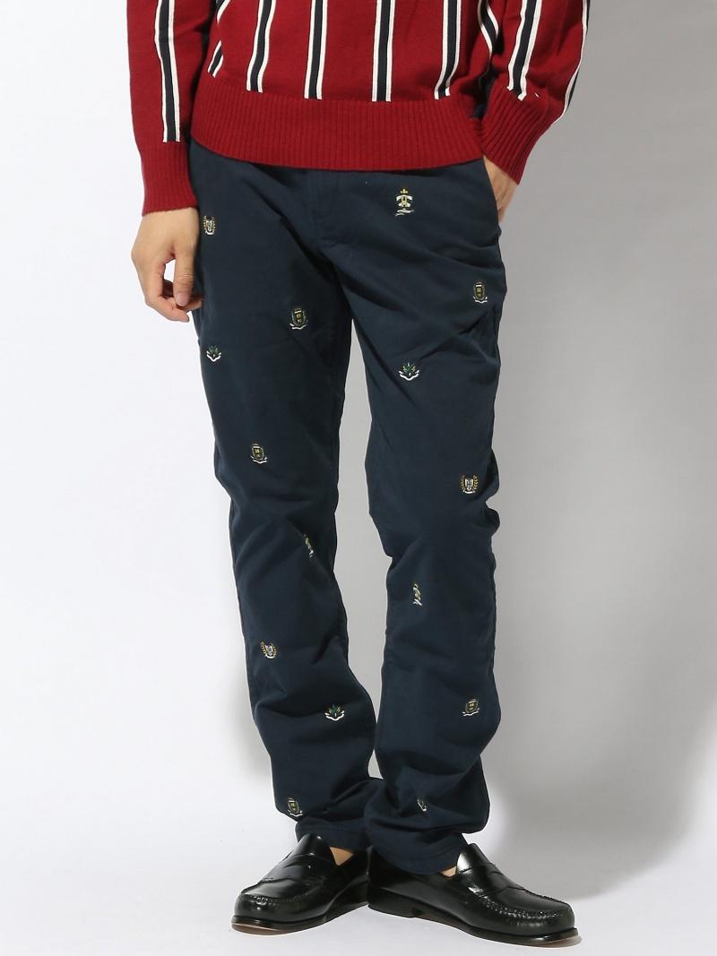 (M)トミーヒルフィガー【DENTONストレートフィットチノ】メンズ パンツ ロゴ トミーヒルフィガー パンツ/ジーンズ【送料無料】