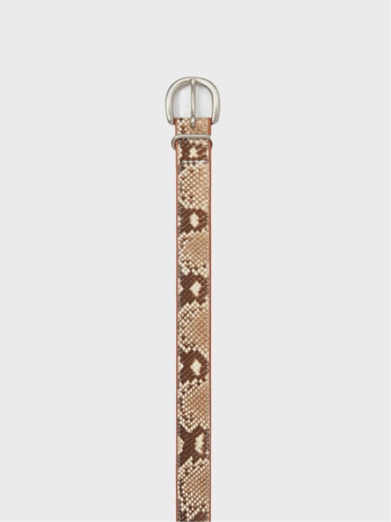 【一部予約!】 Hender Scheme Hender Scheme/(U)python tail belt ピーアールワン ファッショングッズ ベルト ベージュ ピンク【送料無料】, カスミガウラマチ e4a9b133